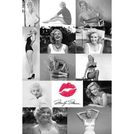Marilyn Monroe Tiles Poster Print (24 x 36) - Marilyn Monroe Party Supplies
