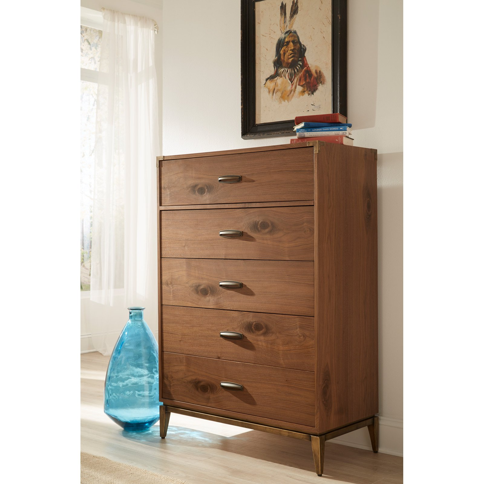 Modus Adler 5-Drawer Chest by Modus Furniture