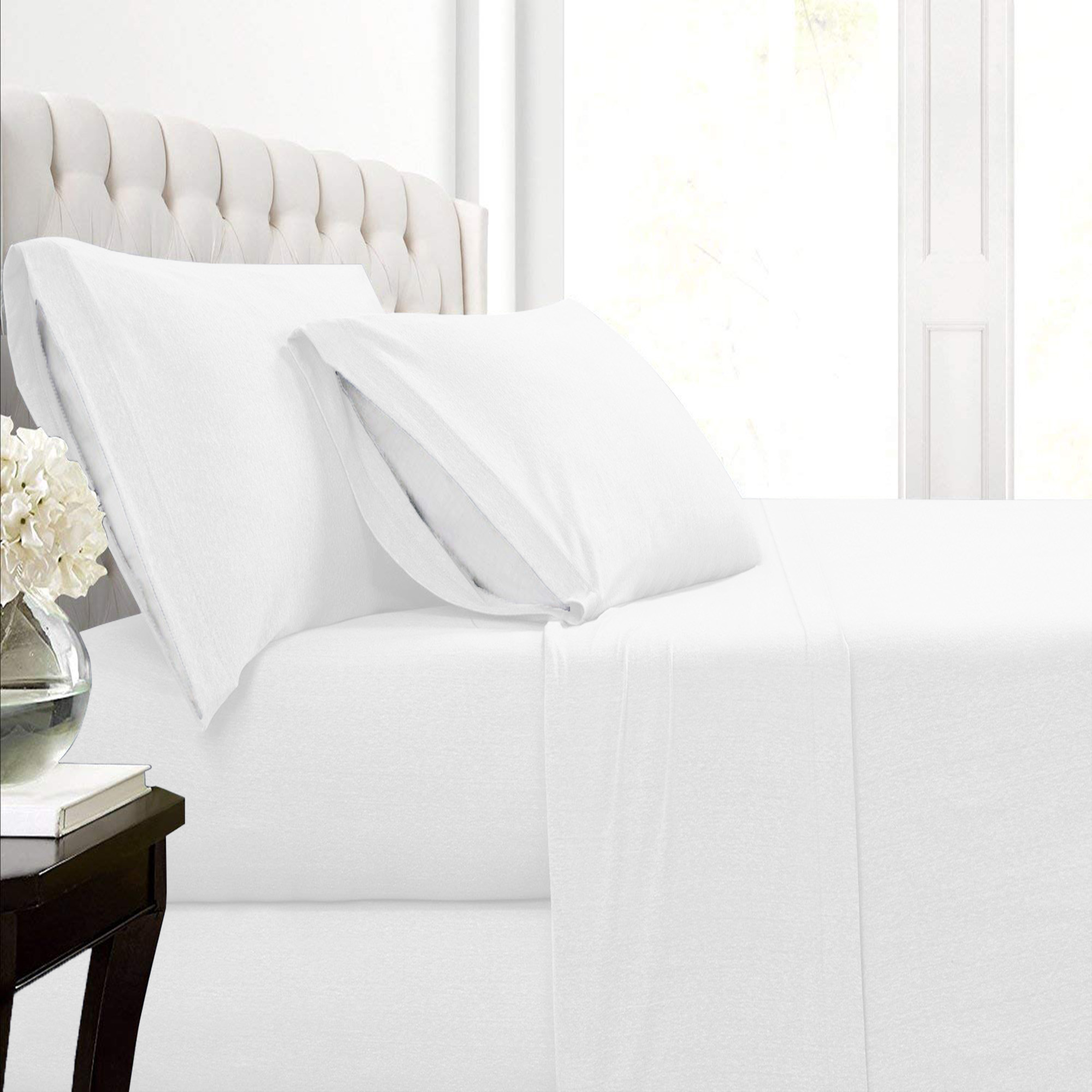 Malina Cotton Jersey Bed Sheet Set   Walmart.com