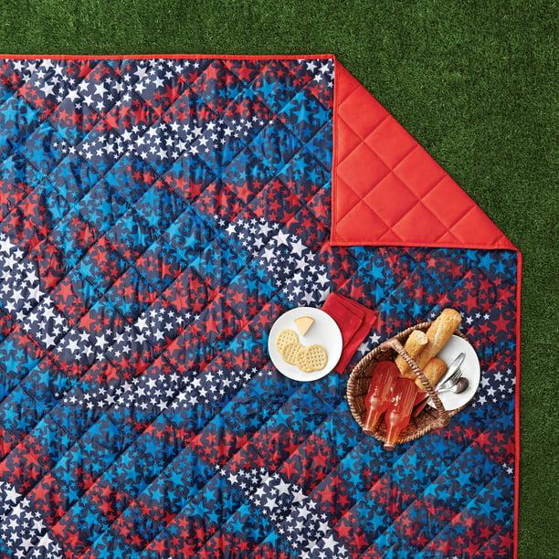 Mainstays Outdoor Blanket 1 Each, Zip Up Outdoor Blanket