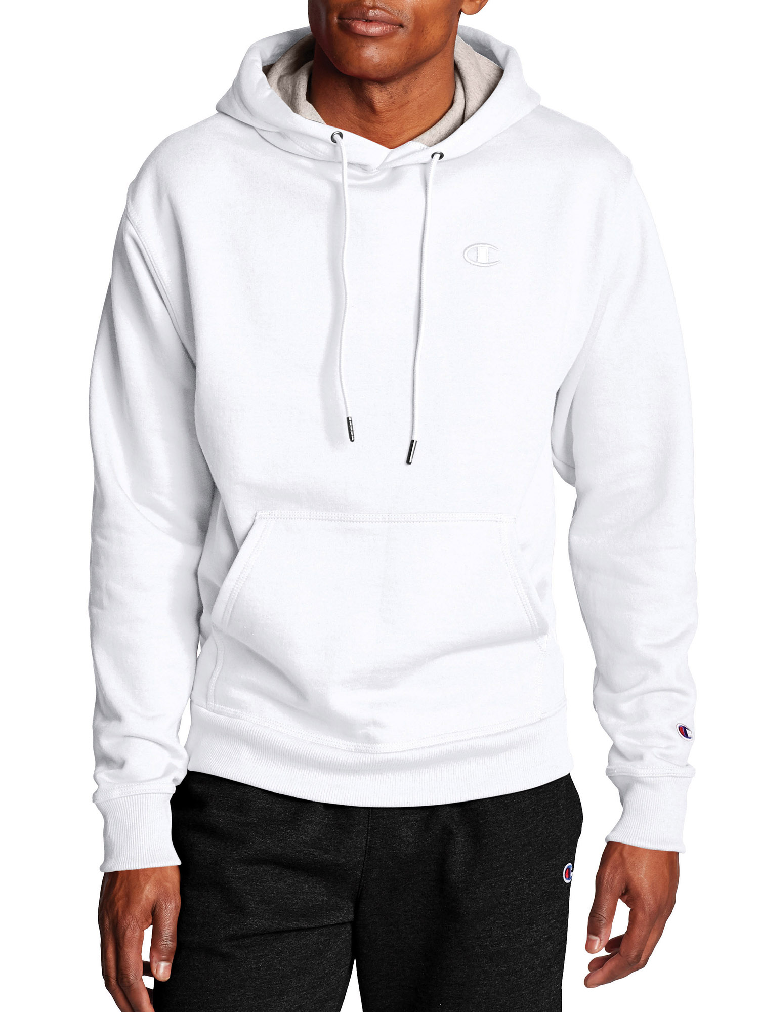 Champion Men/'s Powerblend® Fleece Pullover Hoodie