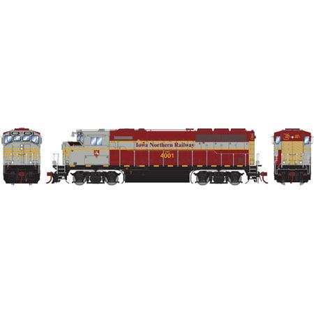 Athearn G40986 HO Iowa Northern Railway GP40-2L with DCC ...