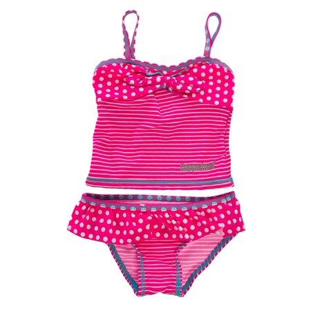 Coppertone Infant Toddler Girl Tankini UV Sun Protection Bathing Suit
