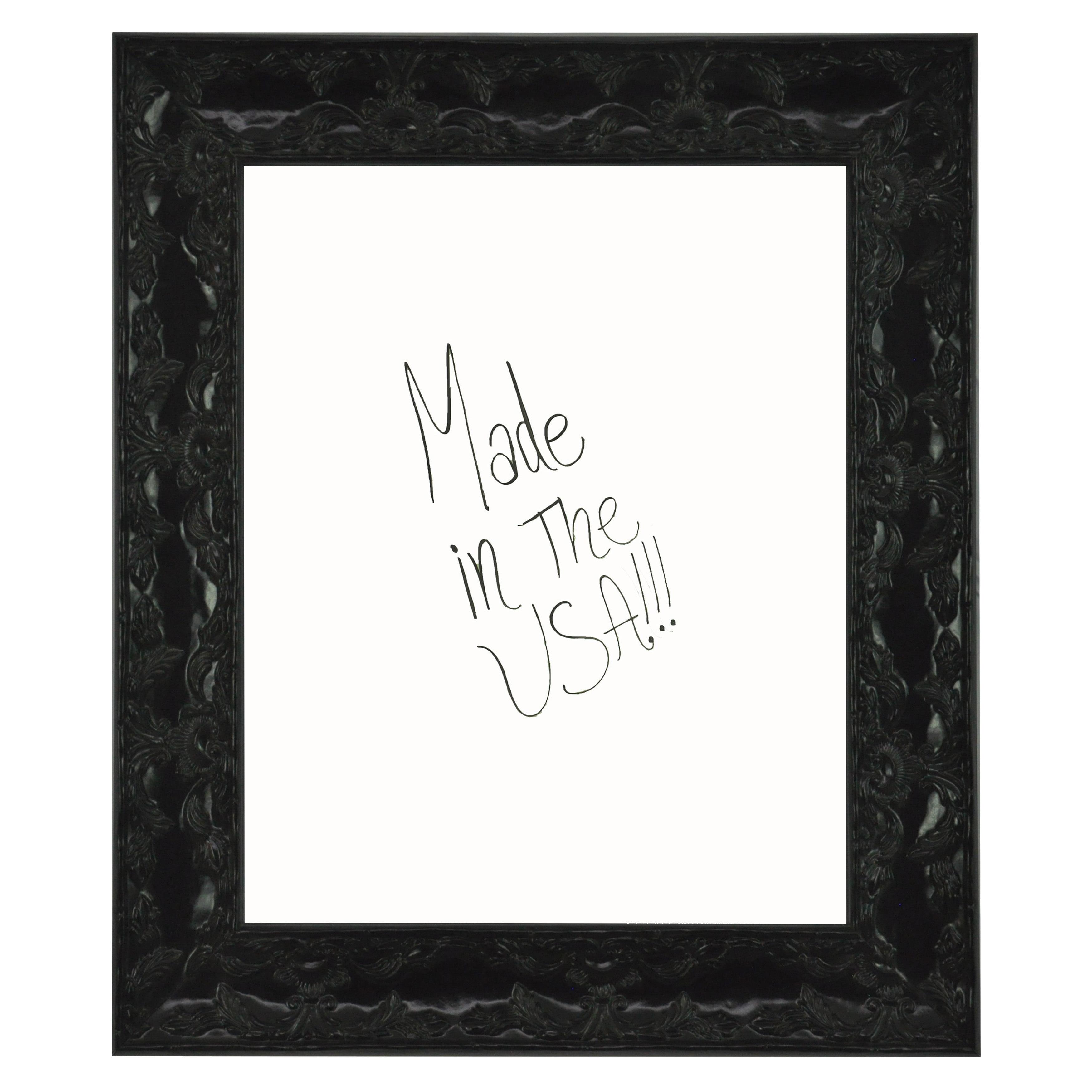 Rayne Mirrors American Made Rayne Black Endicott Dry Erase Board