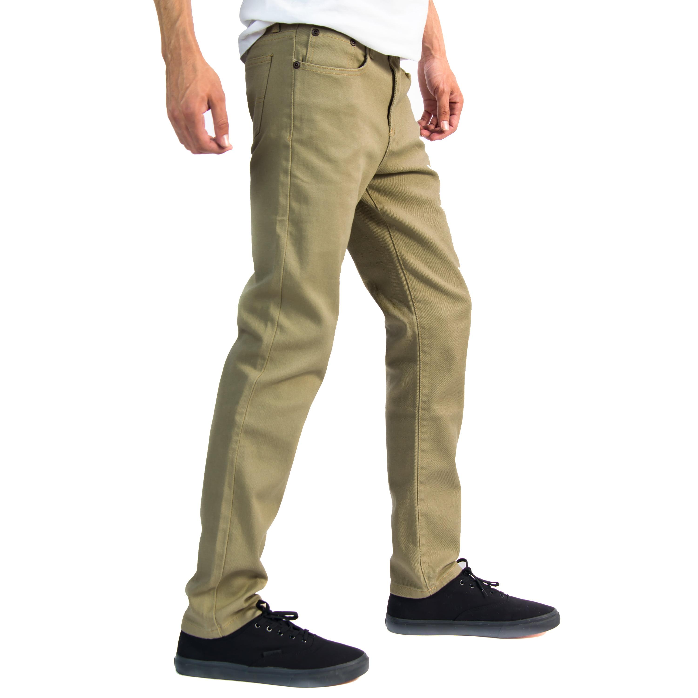 663c9f528be Alta Premium Designer Fashion Mens Slim Fit Skinny Denim Jeans ...