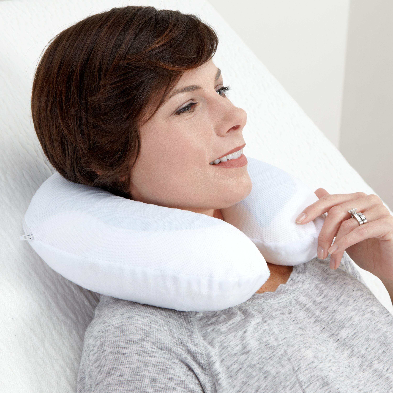 Modern Sleep U Shape Gel Memory Foam Travel Pillow Neck Pillow Walmart Com Walmart Com