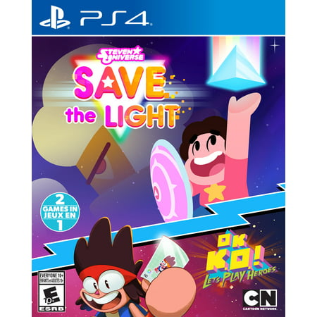 Steven Universe: Save the Light & OK K.O.! Let's Play Heroes, Outright Games, PlayStation 4,