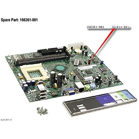 Compaq - Compaq iPAQ Legacy Free i810 PIII Motherboard 166361-001 - 166361-001 (Legacy Motherboard)