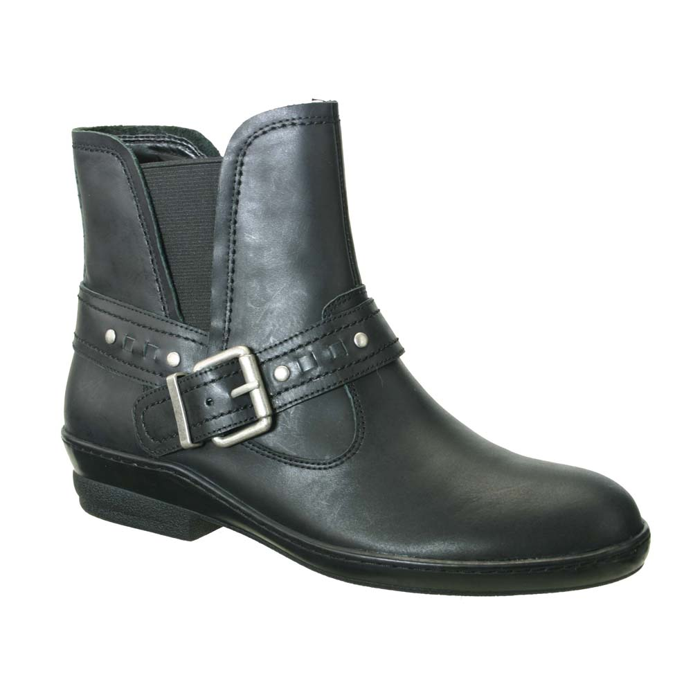 David Tate Women's Art Ankle M Boots Black Leather 8.5 M Ankle cff66a