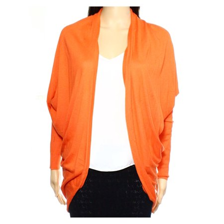 Lauren Ralph Lauren NEW Orange Womens Size Medium M Cardigan -