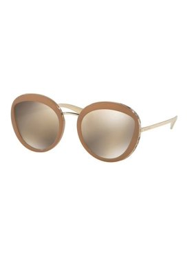 5f1bdeb924 Product Image Bvlgari Sunglasses BV8191 1121 5A Beige Gold Frames Gold  Mirror Lens 52MM