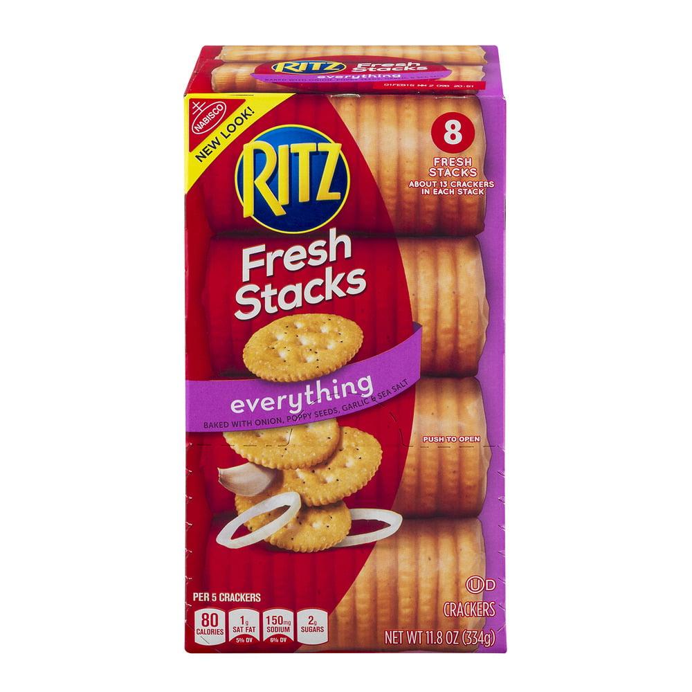 Nabisco Ritz Crackers Everything Fresh Stacks - 8 CT