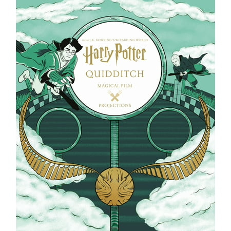 Harry Potter: Magical Film Projections: Quidditch - Harry Potter Quidditch Broom