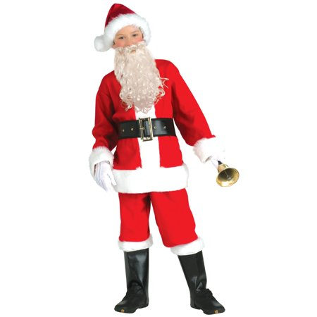 Santa Flannel Child Suit Kit](Womens Santa Suits)