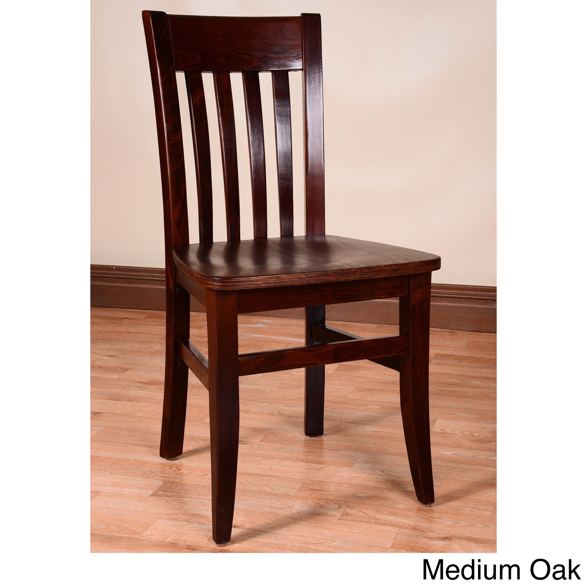 Beechwood Mountain Jacob Wood Dining Chairs (Set of 2) by Overstock