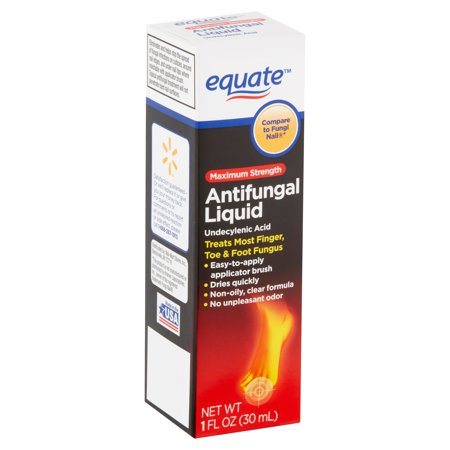 Equate Maximum Strength Antifungal Liquid, 1 fl