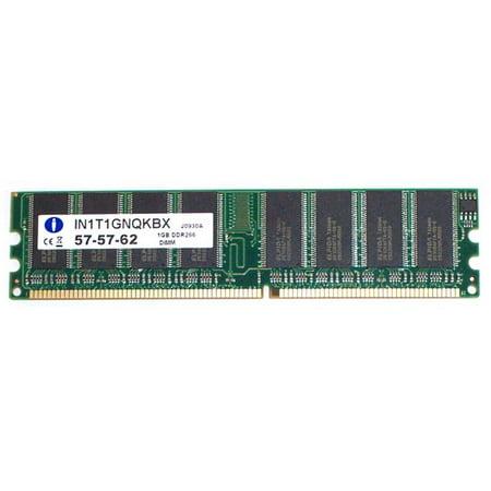 1Gb Integral Pc2100 Ddr Ram Cl2 5 Desktop Memory Module 184 Pins
