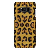 Samsung Galaxy S8 Designer Case, Premium Handcrafted Printed Designer Hard ShockProof Case Back Cover for Samsung Galaxy S8 SM-G950 - Wild Leopard