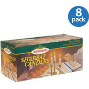 Manischewitz Shabbat Candles, 72 count, (Pack of 8)