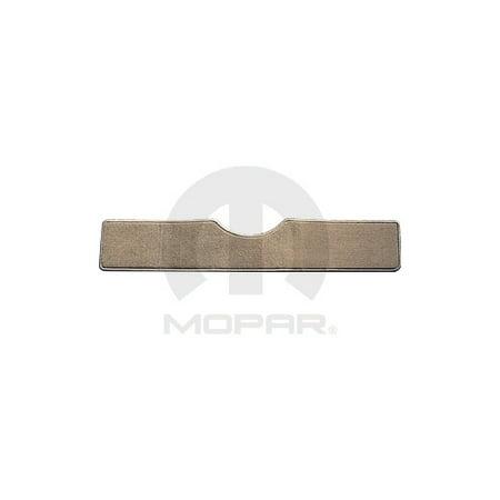 Mopar 82211218AB 3rd Row Carpet Floor Mats Chrysler Town and Country Dodge C/V Tradesman Caravan Medium Pebble Beige W/ Swivel n Go