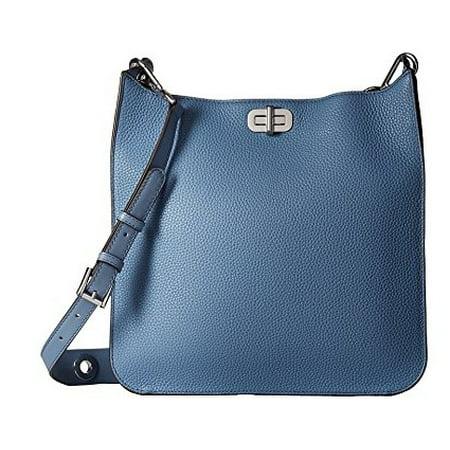 113eee28f290 Michael Kors Sullivan Large Leather Messenger Bag - Denim - 30H6SUPM3L-405  - Walmart.com