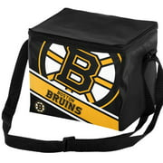Forever Collectibles Big Logo Stripe 6 Pack Cooler, Boston Bruins