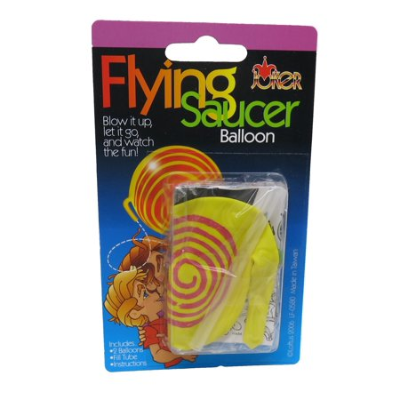 Flying Saucer Balloon - Lunastrella Flying Saucer