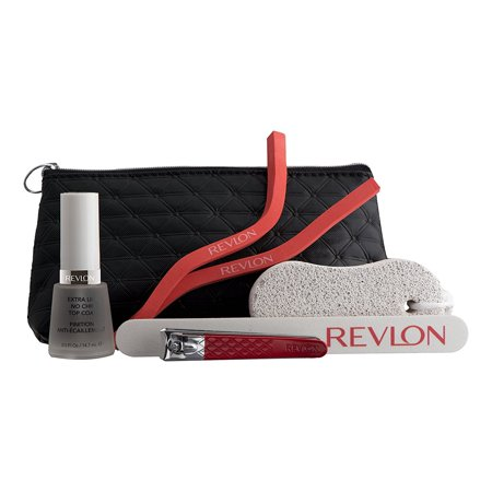 Perfect Pedicure Kit - 6 Piece Pedicure Kit, Everything You Need for the Perfect PedicureAll-in-One Kit4 Specialized ToolsConvenient Travel Bag Included By Revlon