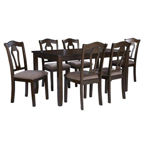 7 piece dining table set contemporary alcott hill hofer piece dining table set walmartcom