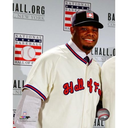 Ken Griffey Jr 2016 MLB Hall of Fame press conference announcement Photo