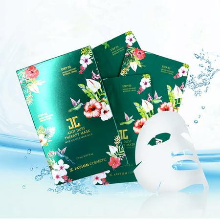 Jayjun 3 Steps Anti-Dust Rejuvenation Repair Therapy Face Mask 10 Sheet (25Ml/Pc)
