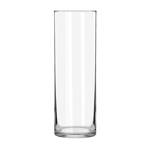 Libbey Floral Cylinder Vase