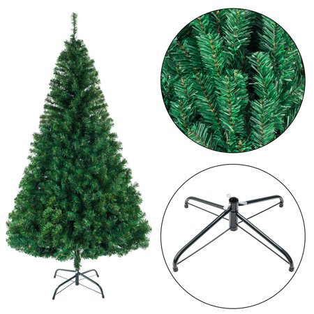 Reactionnx 8 FT Premium Artificial Christmas Tree, Full Tree with Christmas Tree Stand, Easy to Assemble ()