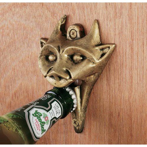 Authentic Iron Gargoyle Bottle Opener Set of 3 by Design Toscano