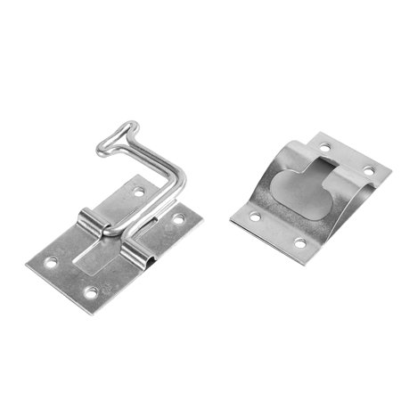 RV Designer E273 Zinc T-Style Entry Door Holder - Angled 90°