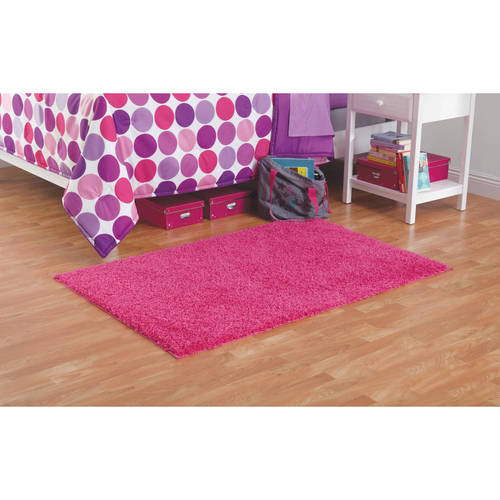 Your Zone Solid Shag Rug Available In Multiple Sizes and Colors