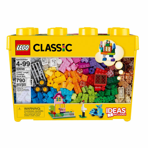 LEGO Classic Large Creative Brick Box - Walmart.com