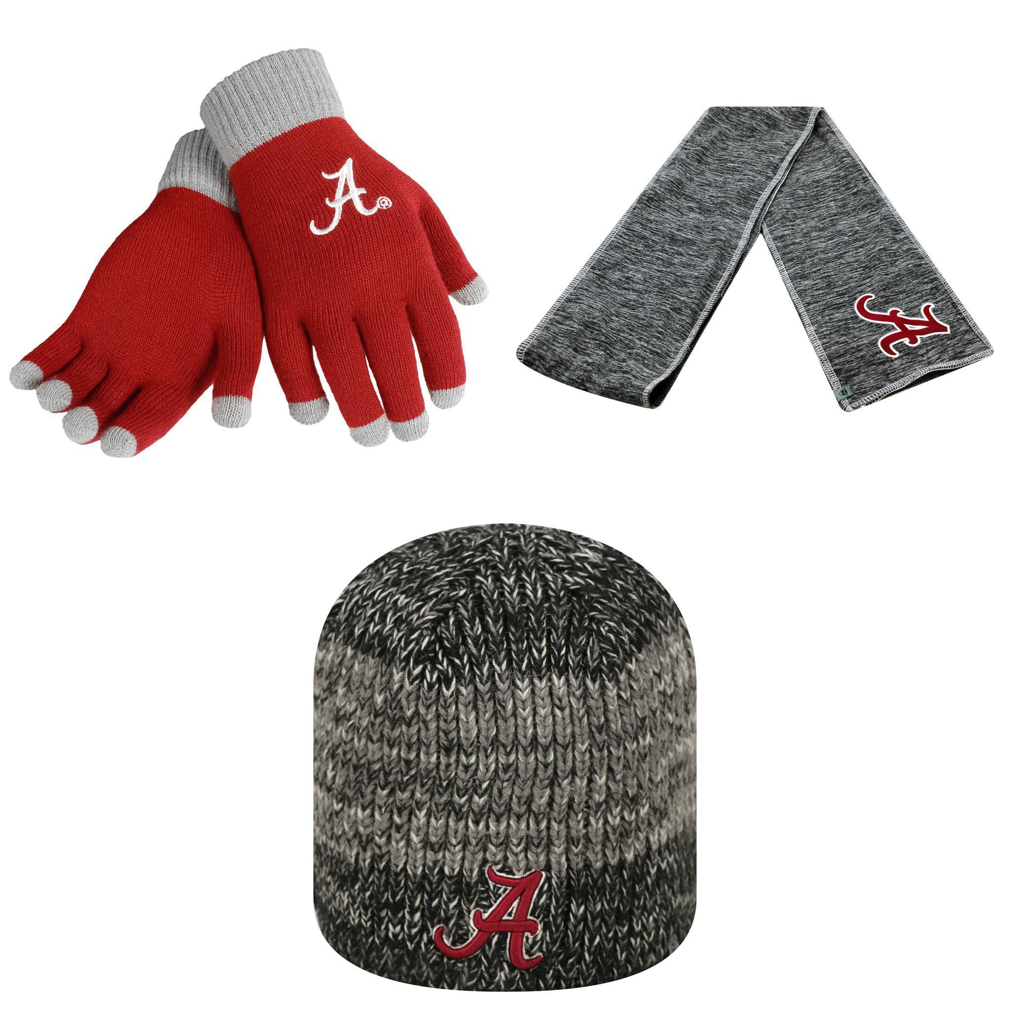 Forever NCAA  Leeward Beanie Hat Hail Scarf And Glove Sol...