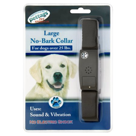 Pettags Large No-Bark Collar for Dogs Over 25 lbs