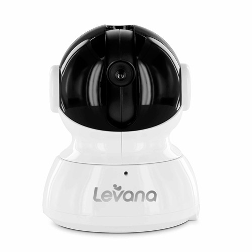 Levana Additional Pan/Tilt/Zoom Camera for Astra Baby Video Monitor with Invisible LEDs and Talk to Baby Intercom