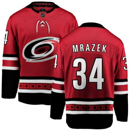 Petr Mrazek Carolina Hurricanes NHL Fanatics Breakaway Home Jersey - image 2 of 2