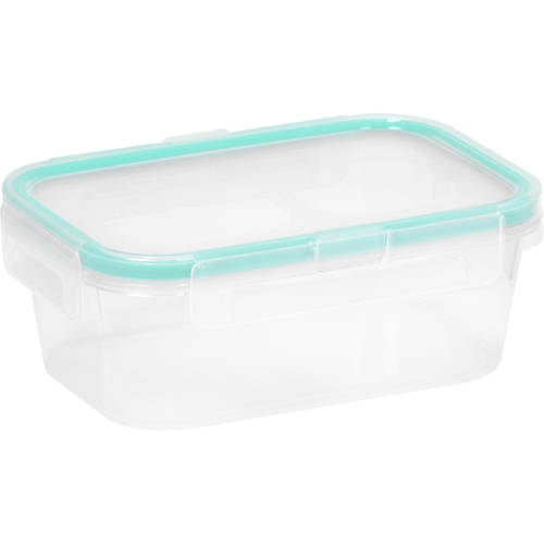 Snapware Airtight Plastic 2-Cup Rectangle Food Storage Container, 6-Pack