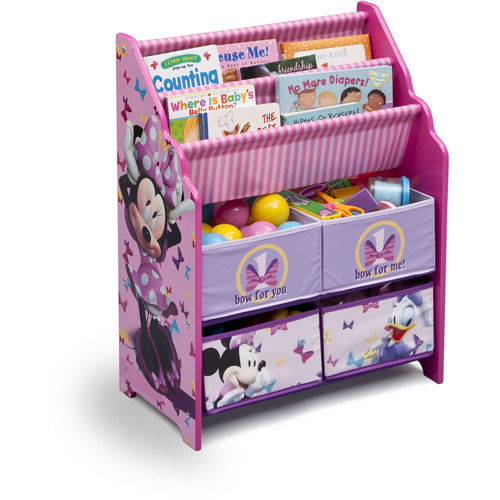 Disney Minnie Mouse Book and Toy Organizer by Disney