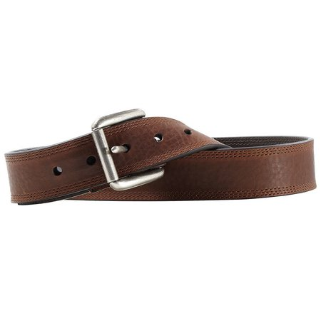 Accessories Men's Triple Row Stitch Belt BROWN 40 ()