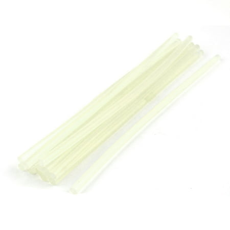 """Crafts Package Sealing Hot Melt Glue Stick 7.5"""" Long 0.28"""" Dia Clear White 12pcs - image 2 of 2"""