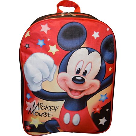 Mickey Mouse Bags (Mickey Mouse 15 Backpack School Bag Hiking Travel Camping)