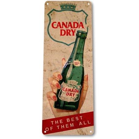 Tin Sign B555 Canada Dry Soda Cola Bar Rustic Retro Metal Decor  By Tinworld