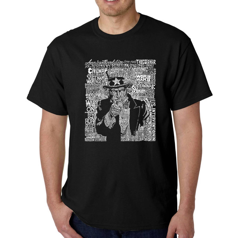 Los Angeles Pop Art Men's T-shirt - Uncle Sam