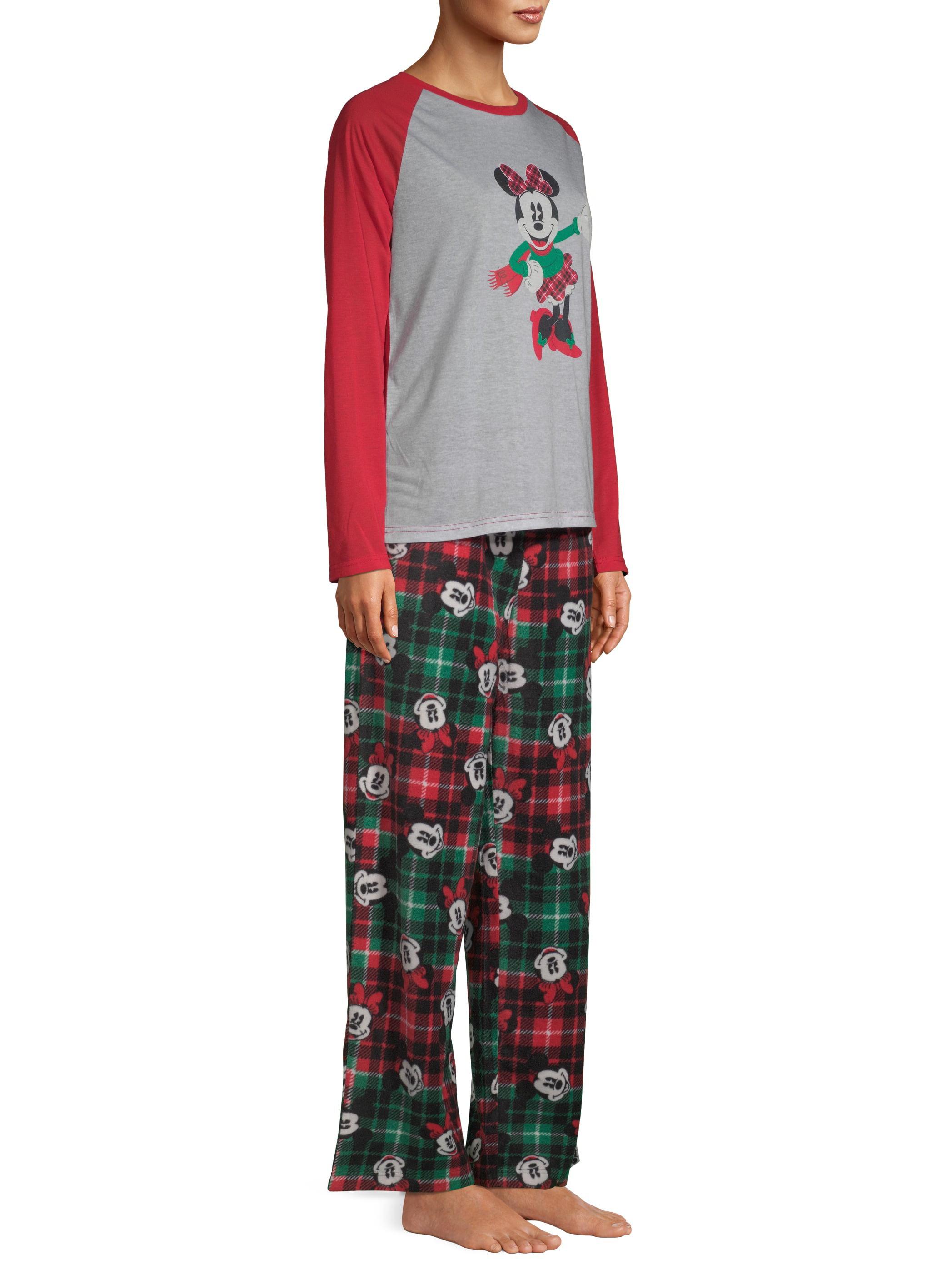 Christmas Pajamas Womens.Disney Matching Family Christmas Pajamas Womens And Womens