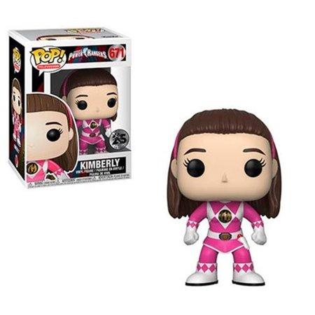Pink Power Ranger Helmet (Power Rangers Pink Ranger No Helmet Pop! Vinyl Figure #671 (Number of Pieces per case:)